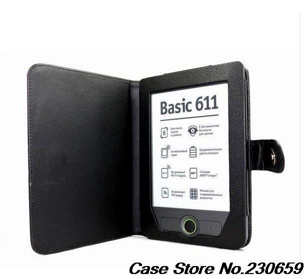 Гаджет  for Pocketbook touch 611 613 PU Leather case For Pocket book touch 611 613 Pouch Cover+free gift+free shipping  None Телефоны и Телекоммуникации