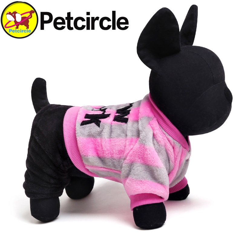 Petcircle Sport Stripe Dog Hoodies 2 Color Size XXS XS S M L Small and Large Dog Clothes Clothing For Dogs(China (Mainland))