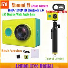 Original Xiaoyi Wifi  Action Camera Sport Waterproof 30M Camara 16MP 1080P HD Bluetooth 4.0 Camera Travel Edition+Basic Edition