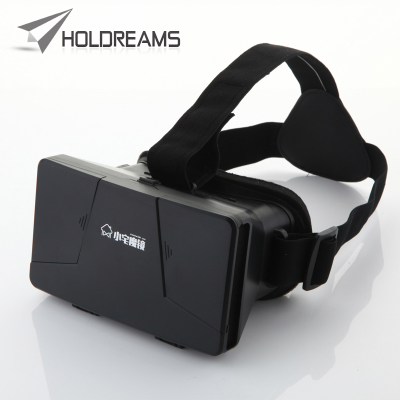 Holdreams Supplys Universal Xiaozhai 1S Google Cardboard Virtual Reality 3D Video Glasses For iPhone Smartphone