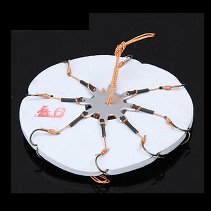 2pcs Fishing tackle Flap Hook High Quality Flap Disc Hook 8 models(China (Mainland))