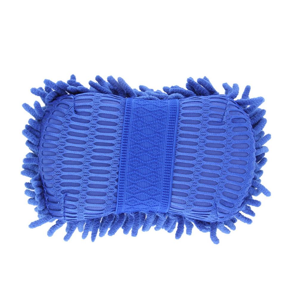 Car Wash Auto Hand Soft Towel Microfiber Chenille Anthozoan Washing Gloves Coral Fleece Sponge Car Washer(China (Mainland))