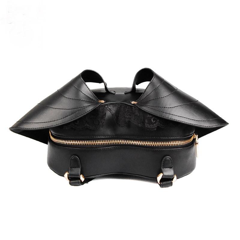 Bat Heart Backpack Black Bat Heart Backpack