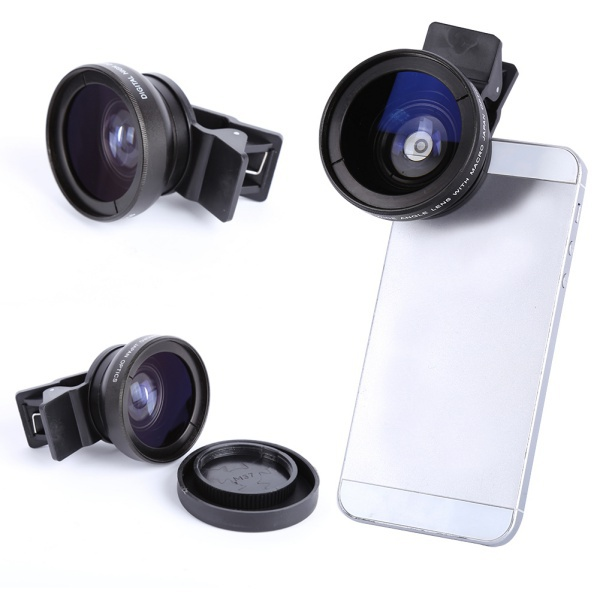 37 mm 0.45x Wide Angle Lens Converter + Macro for Canon DSLR Sony Camera DV mobile phone camera(China (Mainland))