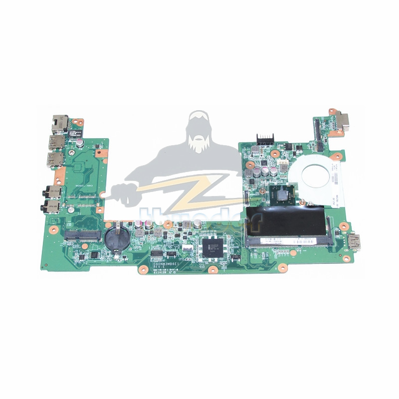 DA0NM3MB6E1 REV E PN 665230-001 for hp compaq mini 110-1104 laptop motherboard SR0DB N2600 CPU DDR3(China (Mainland))