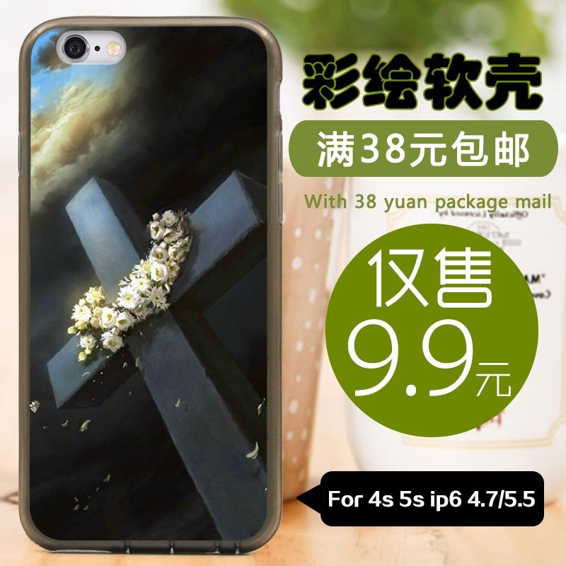 For Apple iphone 4s 5c 5s 6 plus 4.7'/5.5' tpu silicone case soft shell/Hard back cover cases Cross RAE13035032(China (Mainland))