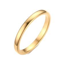 Meaeguet Свадьба Палец Кольцо 2 ММ Широкий Золотой Цвет И Серебро Покрытием Tungsten Карбида Кольца для Женщин И Мужчин Ювелирные Изделия(China (Mainland))
