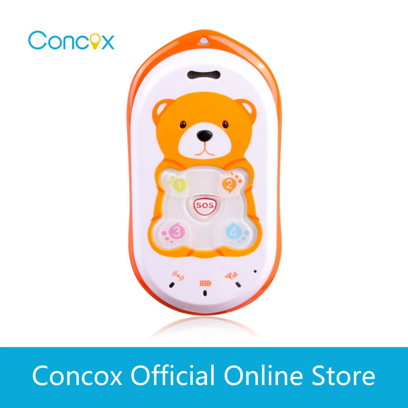 Concox kids spelling app for phone GK301 personal gps tracking device for children(China (Mainland))
