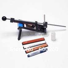 Professional Kitchen Knife Sharpener System Fix-angle 4 Stones Cutlery Knife Sharpener System Freeshipping Wholesale 3156(China (Mainland))