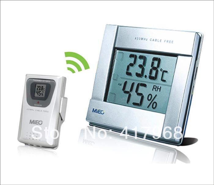 New models HR641B wireless hygrometer+Hot selling