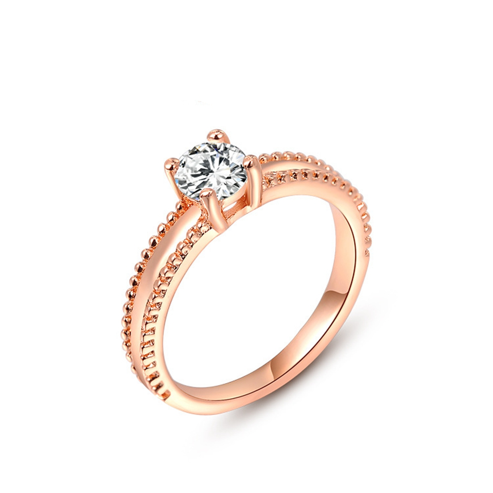 1 0ct Solitaire Wedding Ring 18k Gold Filled Womens Ring Size 8 in Rings from