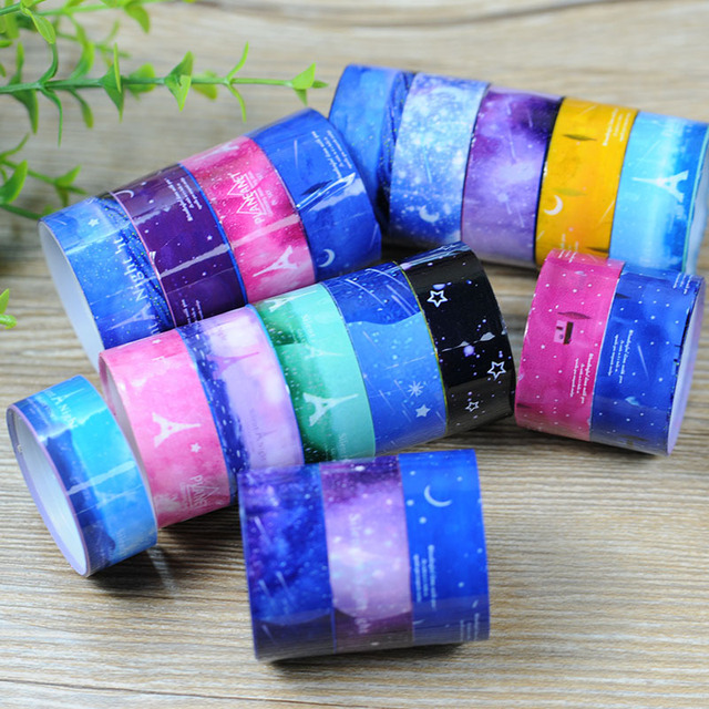 Starry Sky Washi Tape (10 pcs/lot)