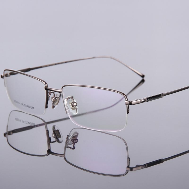 Classic Design Stylish Glasses Pure Titanium Glasses Frame Men Optical Spectacle Frames(China (Mainland))