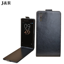 Buy Luxury cover Sony Xperia XZ Dual 5.2 inch Flip cover Vertical Magnetic Leather case Sony Xperia XZ F8332 F8331 Phone Bag for $3.96 in AliExpress store