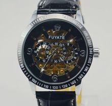 Fuyate mens relojes mecánicos totalmente automáticos chicos moda de hombres reloj comercial j161