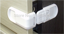 High Quality White Hard ABS Baby Child Kid Safe Safety Protection Drawer Cabinet Door Right Angle