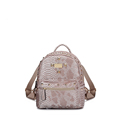 Famous Brand Fashion New Backpack Trendy Snake print Preppy Style Backpack Designer Small Bag Women Designer