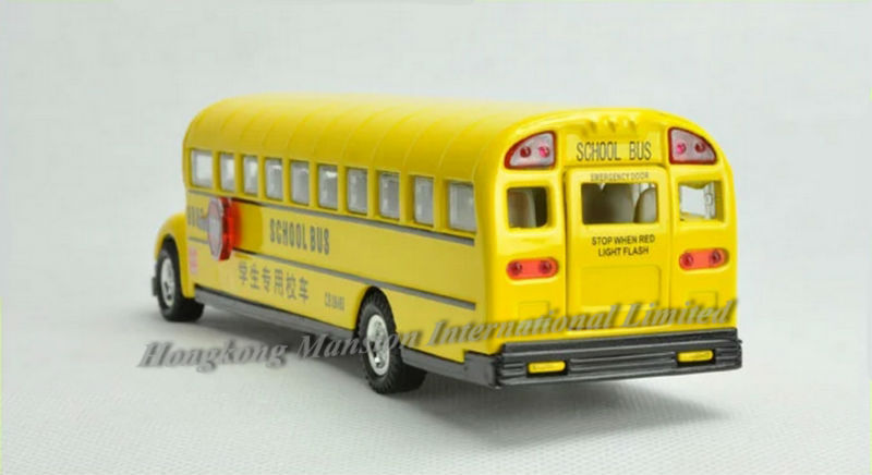 132 Car Model For Bluebird School Bus style 2 (3)