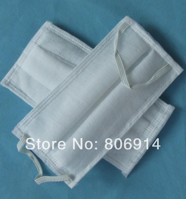 Free Shipping 1000pcs/lot quality cotton gauze mask labor protection mask anti-sand anti-dust mask respirator(China (Mainland))