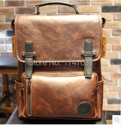 British wind! 2015 hot Europe and the United States to restore ancient ways fashion men's bags travel backpack bag