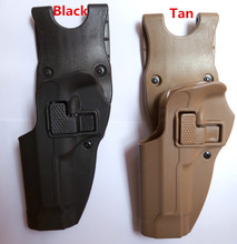 BlackHawk Style Serpa Military Army Tactical belt holster fits for Beretta 92  96  M9  Polymer left hand high quality