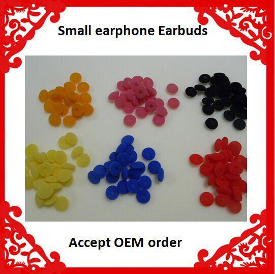 Free shipping 18mm 10000pcs/lot black Earphone Earbud ear Pad foam cushion cover orange yellow blue red black white color(China (Mainland))