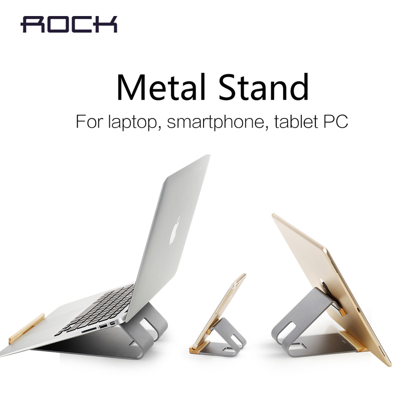 Rock phone metal stand For Iphone 6 Plus & Samsung S6 edge for ipad pro, table pc compute metal holder free shipping(China (Mainland))