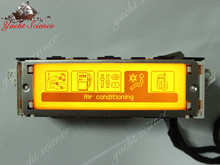 407 408 307 C5 orange yellow screen RD9 RD45 monitor USB Bluetooth screen support English French 12 pin interface for Peugeot(China (Mainland))