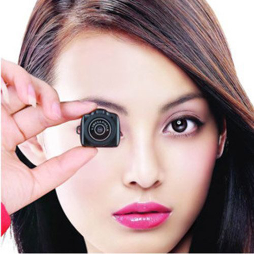 720P Portable Smallest Y2000 Mini Camera Digital DSLR DV Camcorder Support 32G TF Card Memory(China (Mainland))