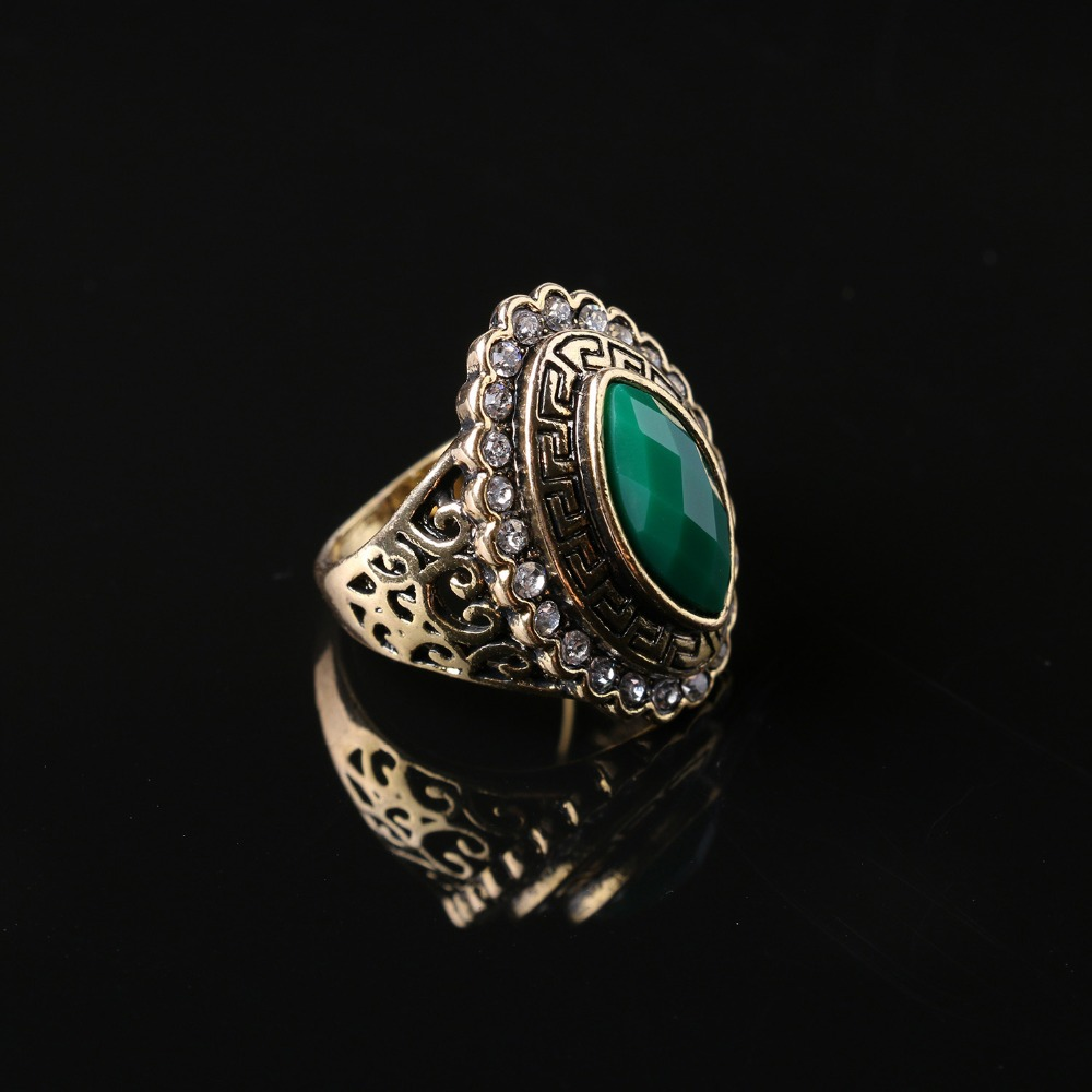 New listing,Exquisite carved Eye shape Vintage Ring High fashion accessories Factory direct sales(China (Mainland))