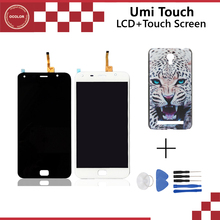 Umi Touch Original LCD Display + Touch Screen Assembly Perfect Repair Part 5.5 inch For Umi Touch Free Shipp+Tools+plastic case(China (Mainland))