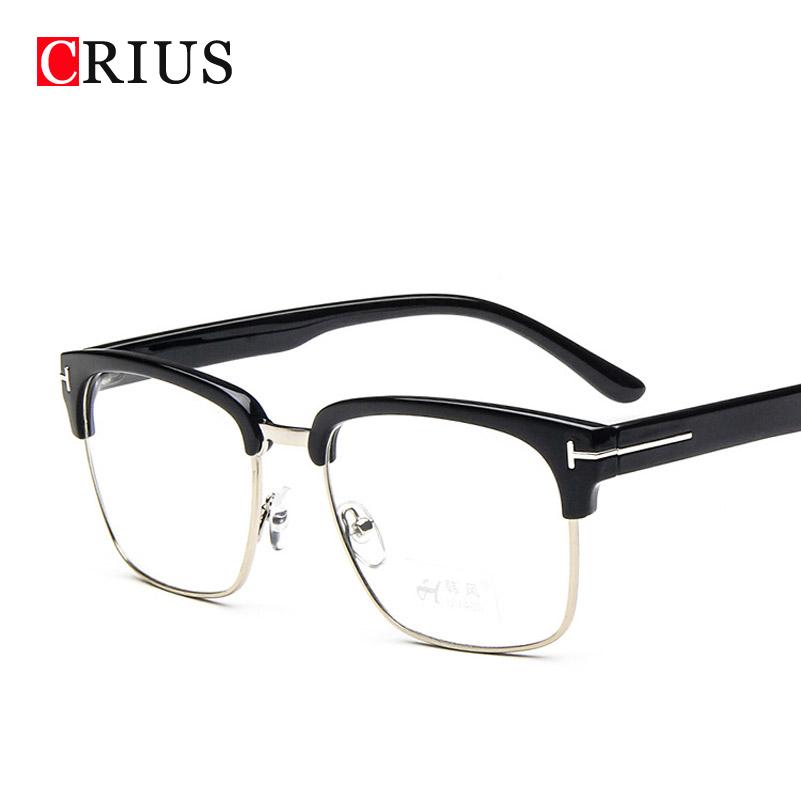 2016 new womens eye optical glasses frame for men Vintage ...