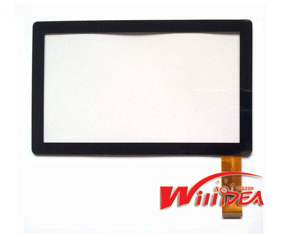 "7"" 7 Inch Capacitive Touch Screen PANEL Digitizer Glass Replacement for Allwinner A13 Q88 Q8 Tablet PC pad A13 Free Shipping(China (Mainland))"