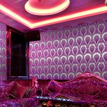 Free shipping gilded wallpaper KTV entertainment project wallpaper (China (Mainland))