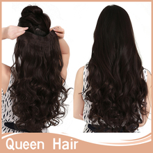 Xmas Gifts Hot! Fasion 50″20inch 130g 888  Long Curly Wavy Clip in Hair Extensions Multi-color Available Good Quality 1pc/lot