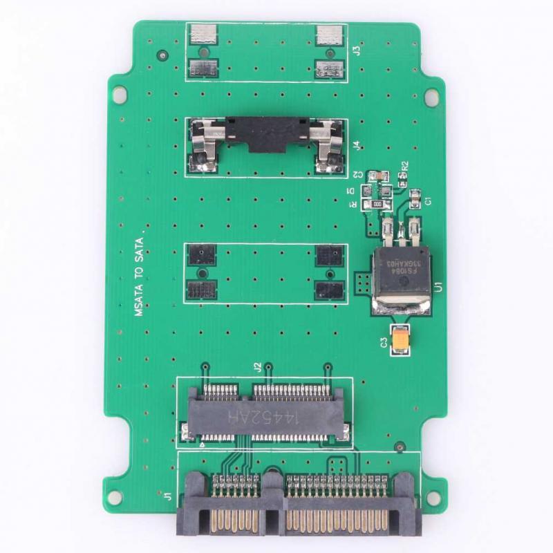 MSATA TO SATA Adapter Converter Card SATA Motherboard Drive Adapter For Computer(China (Mainland))