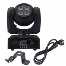 Buy Free THD LED 80W DMX mini wash spot Moving head dj disco effect stage lights Mini LED Moving Head Sound Active Light for $89.00 in AliExpress store