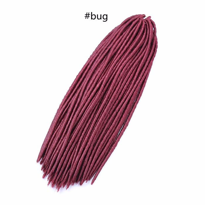Free Shipping Kinky Curly Synthetic Twist Crochet Braids Burgundy,Blonde,Purple,Faux Locs Dreadlocks Braiding Hair Extension