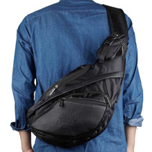High Quality Waterproof Nylon Men Messenger Shoulder Cross Body Travel Hiking Sports Sling Chest Day Pack Bag