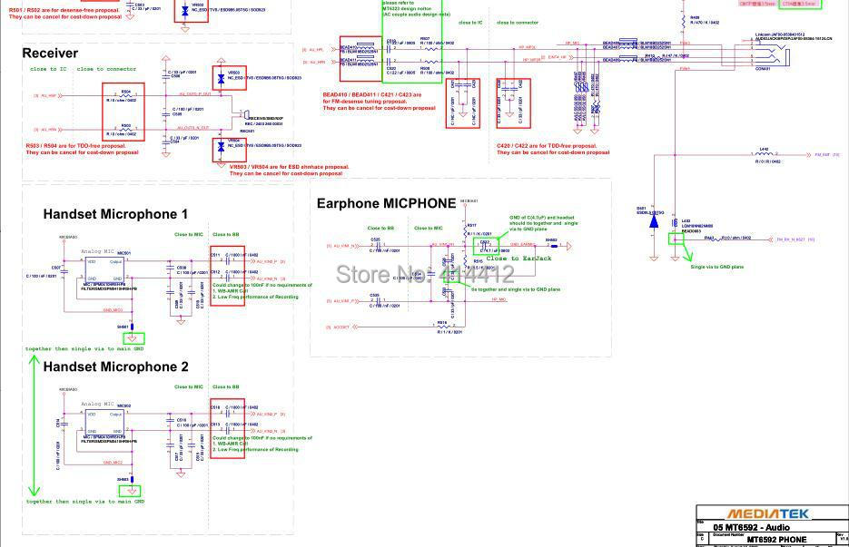 Huawei P6layout Schematic
