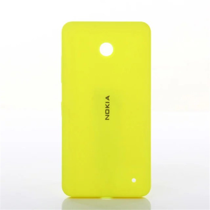 100% Genuine Housing For Nokia Lumia 630 635 , Original Back Cover , Battery Cover Case For Nokia Lumia 630 635 Phone Cases