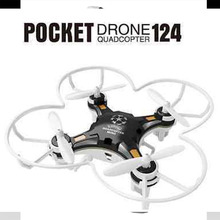 FQ777-124 Mini Pocket Drone 4CH 6Axis Gyro RC Quadcopter Helicopter With Switchable Controller RTF New