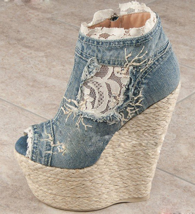 Jeans Sandals Boots Jean Blue Ankle Boots High