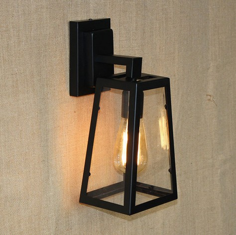 Фотография Edison Retro Loft Style Sconce Vintage Wall Light For Home Antique Industrial Wall Lamp Iron Glass Indoor Lighting Luz De Pared