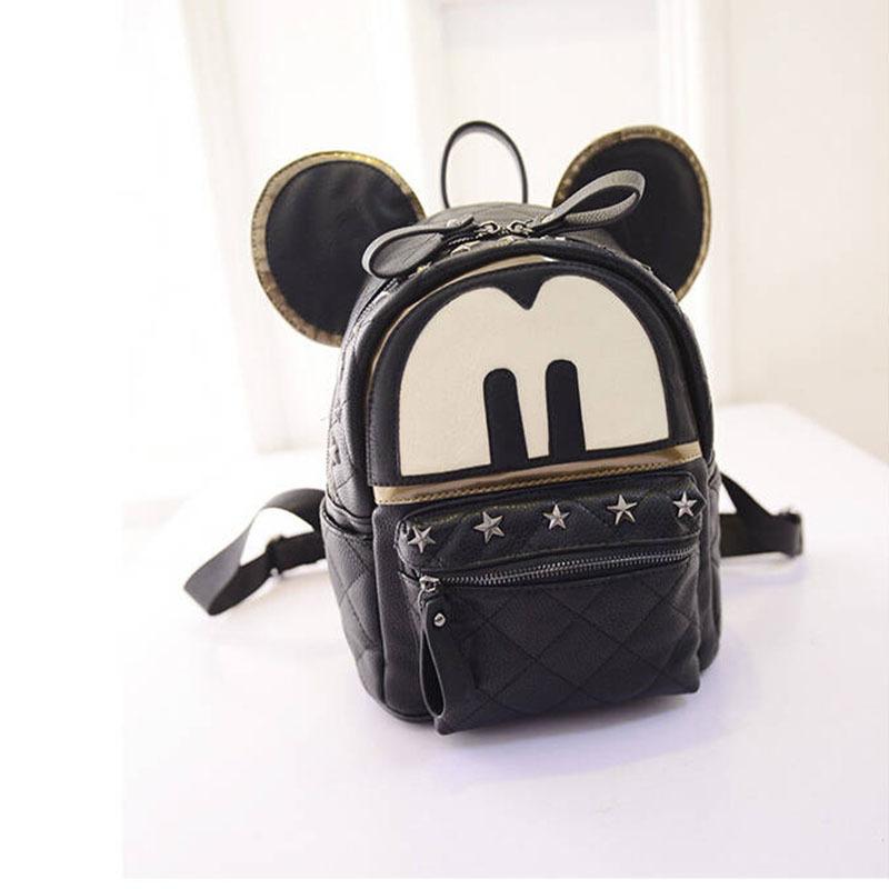 Famous Brand Women Classic Vintage Fashion Style Backpack Big Capacity PU School Bag Travel Bag Cartoon Bolsa Feminina bagXA387D<br><br>Aliexpress