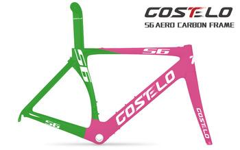 LIGHT WEIGHT Costelo road racing carbon bicycle frameset T1000 carbon fiber bike ud/3k 700c road bike frame Free Shipping