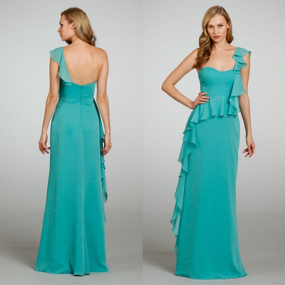Similiar Aqua Green Bridesmaid Dresses Keywords
