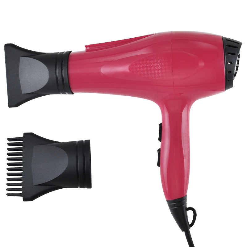 Professional Hair Dryer 2000W Blow Dryer Fast Heat Speed Red 460116(China (Mainland))