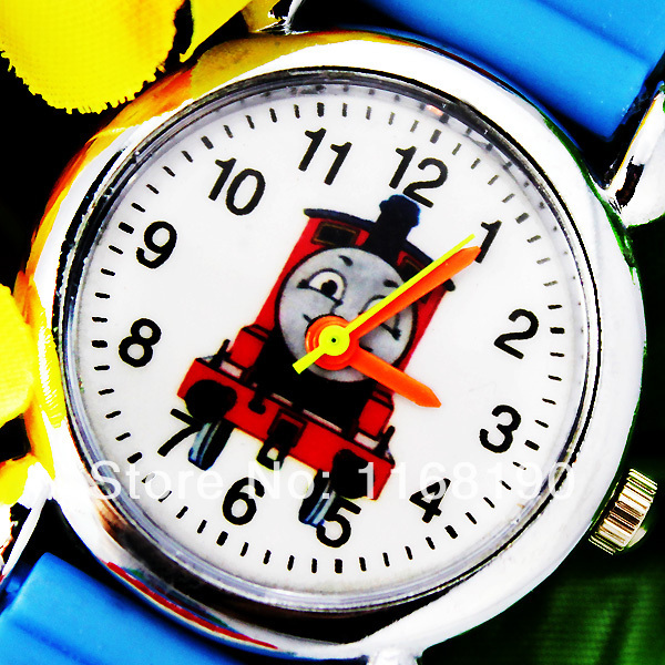 Free Shipping ! Cute Classic Thomas and Friends 3D Children Kids's Cartoon Watch Nice Gift Watches , C10(China (Mainland))