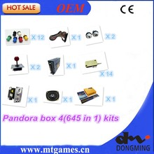 Jamma Arcade game kits with pandora box 4/645in1 game ,Power Supply,Arcade joystick ,Arcade Buttons ,Speaker for arcade game(China (Mainland))